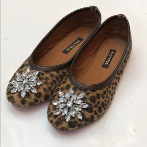 NWT Leopard Mystique Ballet Flats